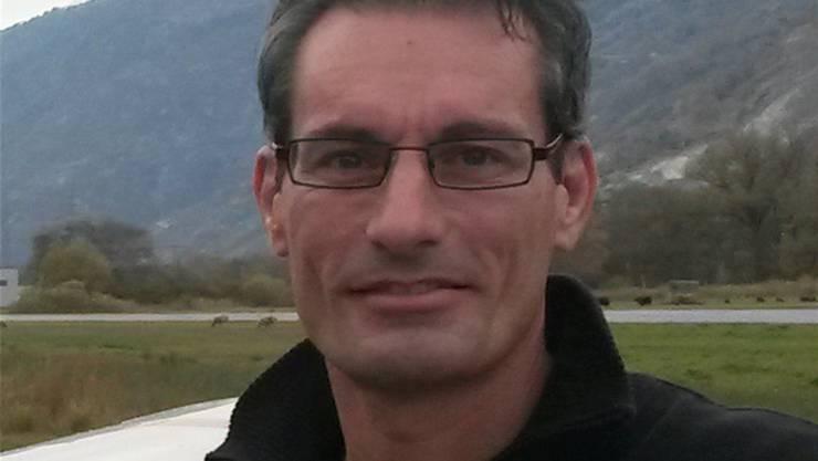 Martin Andenmatten ist nicht mehr Leiter des Flugplatzes. ZVG