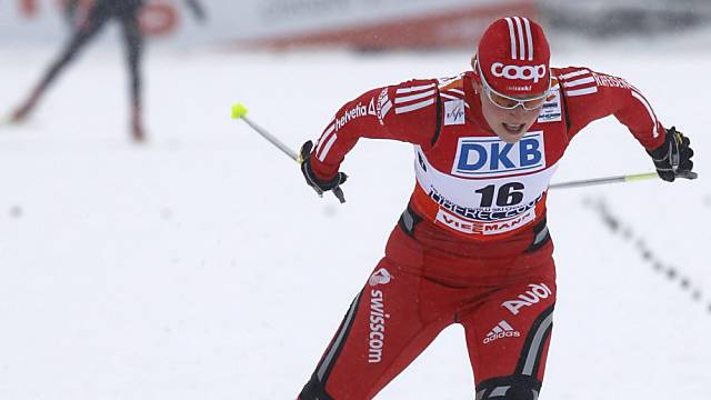 Seraina Mischol an der WM 2009 in Liberec (Tsch).