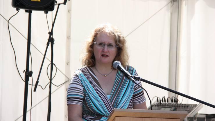 Nicole Sehringer Bucher, nun ehemalige Verwaltungsratspräsidentin Länzerthus