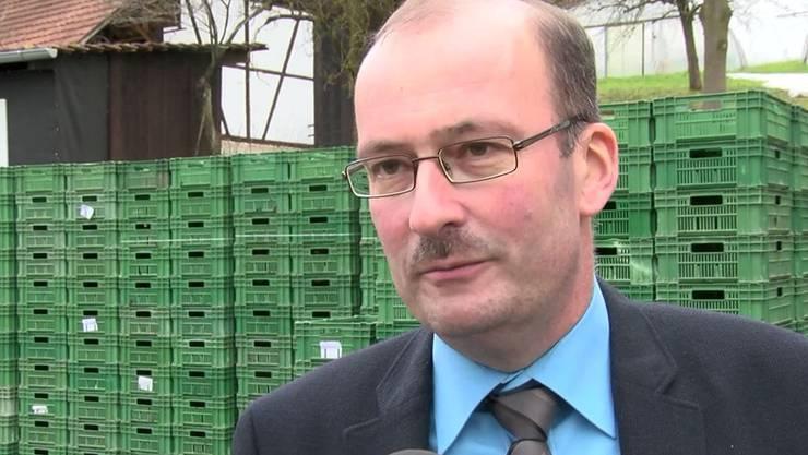 Kämpft gegen die Mindestlohn-Initiative: Markus Ritter, Präsident des Schweizerischer Bauernverbandes.