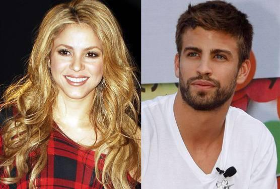 Shakira und ihre neue Liebe Gerard Piqué.