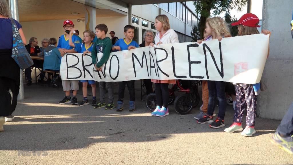 Grosser Empfang für Marlen Reusser: Olympia-Silber ist zu Hause angekommen