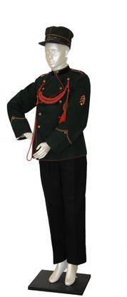 Das war die Uniform von 1906–1950.