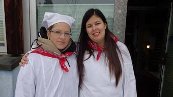 Sie geben an der Chesslete den Ton an. Amanda Ryf (links) und Sheena Ettlin.