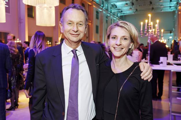 Ständerat Philipp Müller und seine Ehefrau Valesca Zaugg.