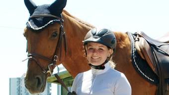 Eingespieltes Team: Céline Fischer mit Starano.