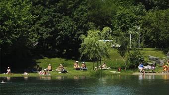 Einer der wenigen legalen Baggerseen der Region: «Le Baggersee» bei Strassburg. Thierry Suzan (CUS)