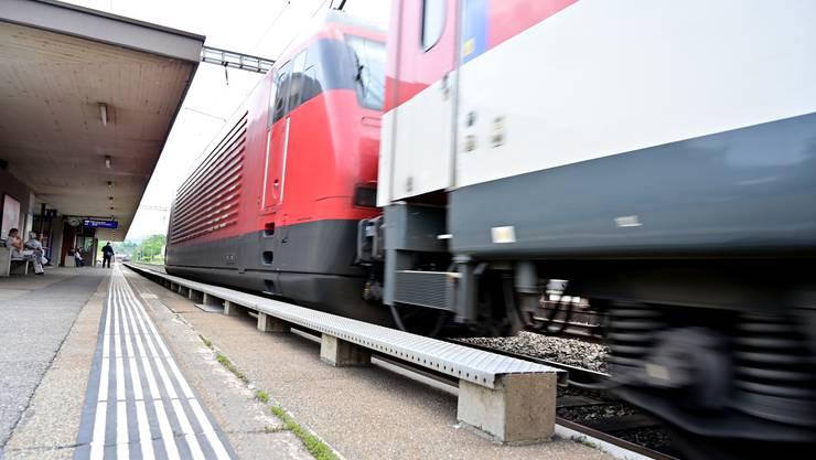 Der Bahnhof Schönenwerd wird umgebaut