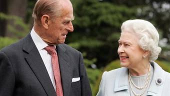 Prinz Philip und seine Frau, Königin Elizabeth II. (Archiv)