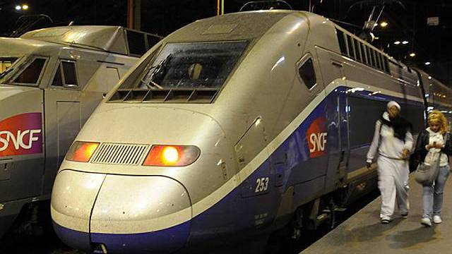 Ein TGV-Zug am Gare de Lyon in Paris (Archiv)
