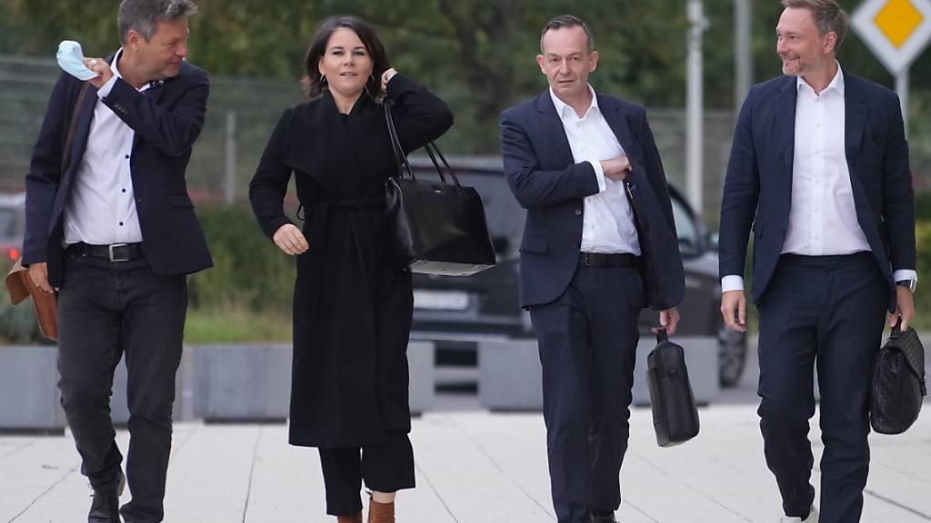 Sondierungen über Ampel-Koalition in Deutschland fortgesetzt