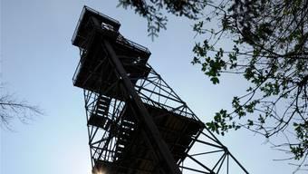 Der 1929 erbaute Maiengrün-Turm ist bis heute eine Touristenattraktion im Freiamt.