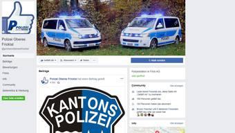 Der Facebook-Auftritt ist seit 1. September online.
