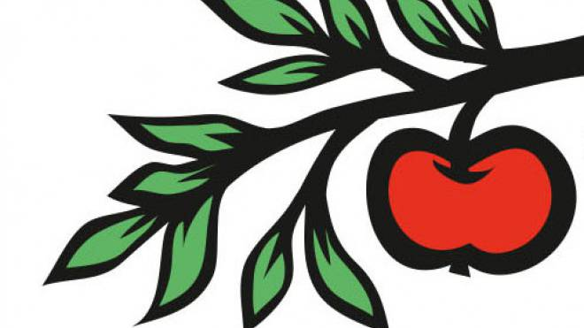 Das Apfel-Baumsujet wird sowohl von den Befürwortern als auch von den Gegner der Initiative eingesetzt.