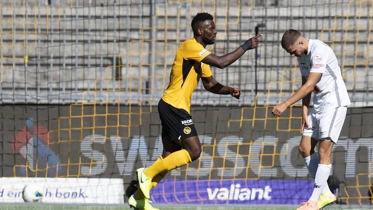 Jean-Pierre Nsame schiesst das entscheidende Tor gegen den FC Luzern.