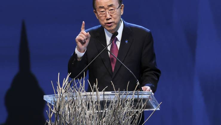 UNO-Generalsekretär Ban Ki Moon in Istanbul: Beim ersten Weltnothilfegipfel wollen die Vereinten Nationen die Versorgung bedürftiger Menschen in Krisengebieten verbessern.