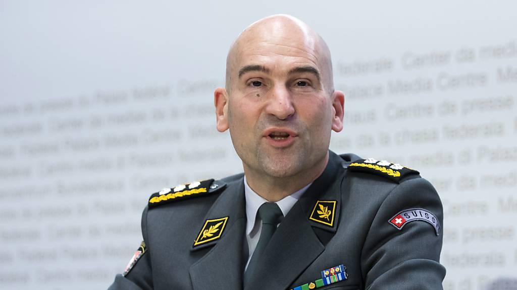 Armeechef rechnet mit grösstem RS-Start der Geschichte