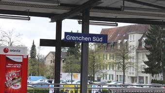 Der Bahnhof Grenchen Süd