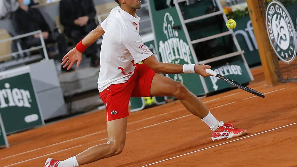 Djokovic beim Auftakt ohne Probleme