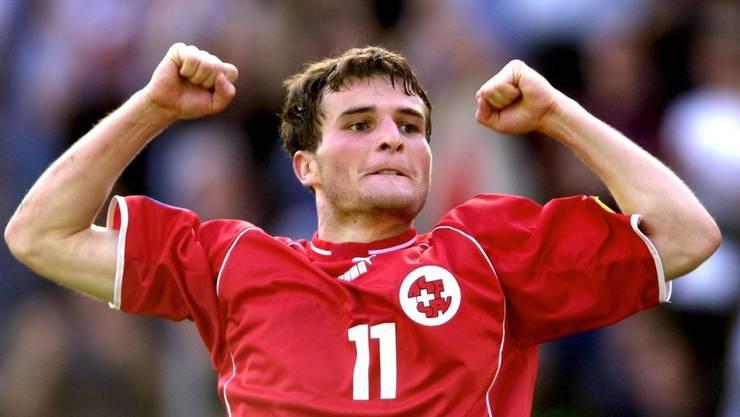 Mit der U21 schafft es Frei 2002 bis ins Halbfinale der EM.