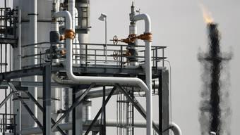 Eine Ölraffinerie in den USA (Archiv)