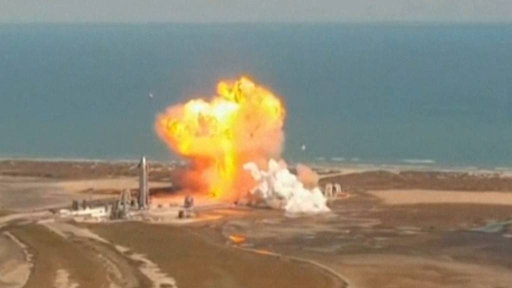 Musks SpaceX-Rakete explodiert bei Test
