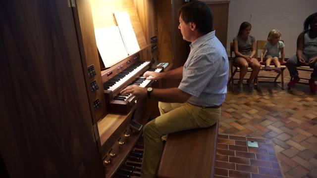 """Auch der """"Boogie"""" funktioniert mit Orgel"""