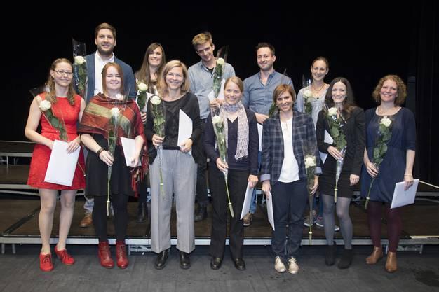 14 Masterstudenten konnten in Olten ihre Diplome entgegennehmen.