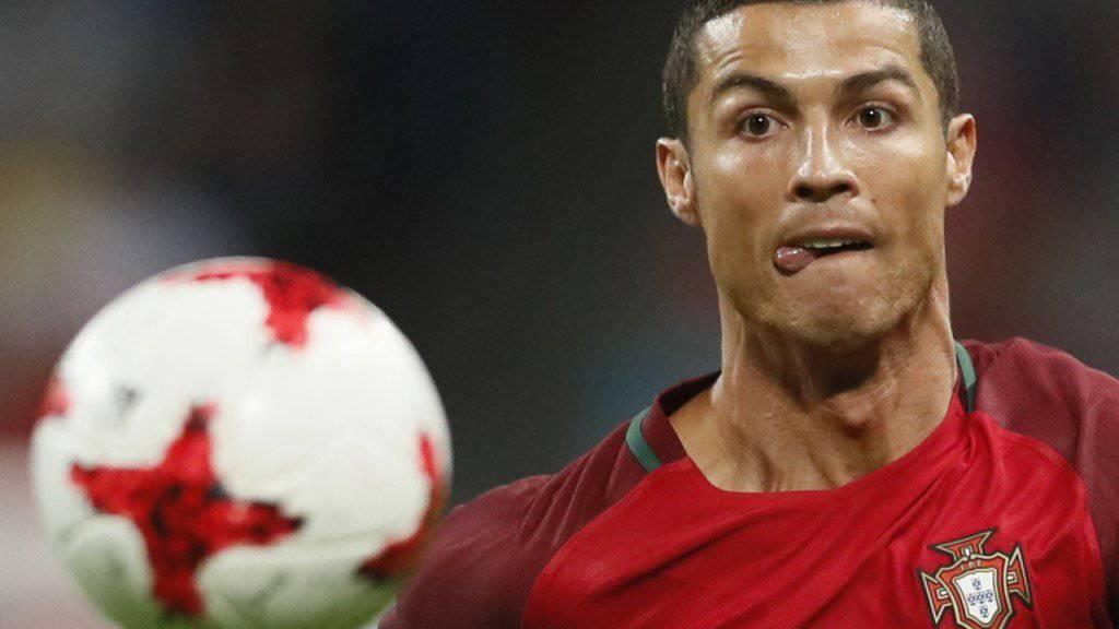 Cristiano Ronaldo kann derzeit nicht nur den Ball im Auge haben