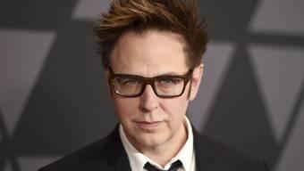 """James Gunn soll die Fortsetzung des Antihelden-Films """"Suicide Squad"""" schreiben. Damit hat der US-Regisseur bei Warner Bros einen neuen Job, nachdem Disney ihn gefeuert hatte. (Archivbild)"""