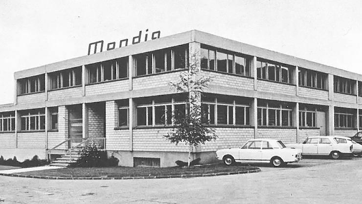 Der Sitz der Firma an der Kreuzung Sagmattstrasse/Holderweg, wo man seit 1946 produzierte und verkaufte.