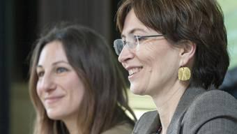 Die Co-Präsidentinnen Adele Thorens (l.) und Regula Ritz (Archiv)