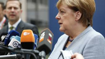 """Angela Merkel kritisierte am Donnerstag am EU-Gipfel in Brüssel die Entwicklung in der Türkei. Diese sei """"sehr negativ einzuschätzen""""."""