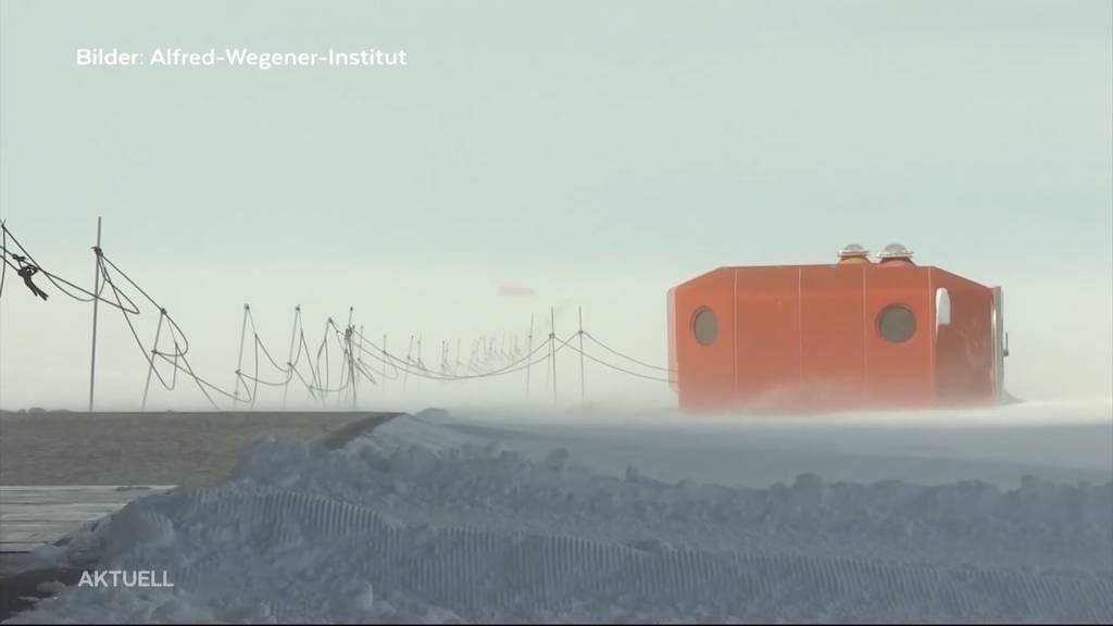 Wildegg: Ein Lehrer und seine Schüler funken mit Forschern in der Antarktis