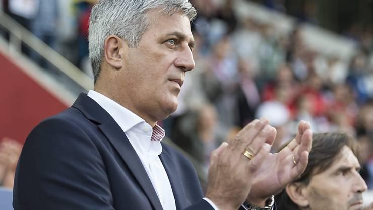 Nationaltrainer Petkovic mit der Leistung seines Teams hochzufrieden