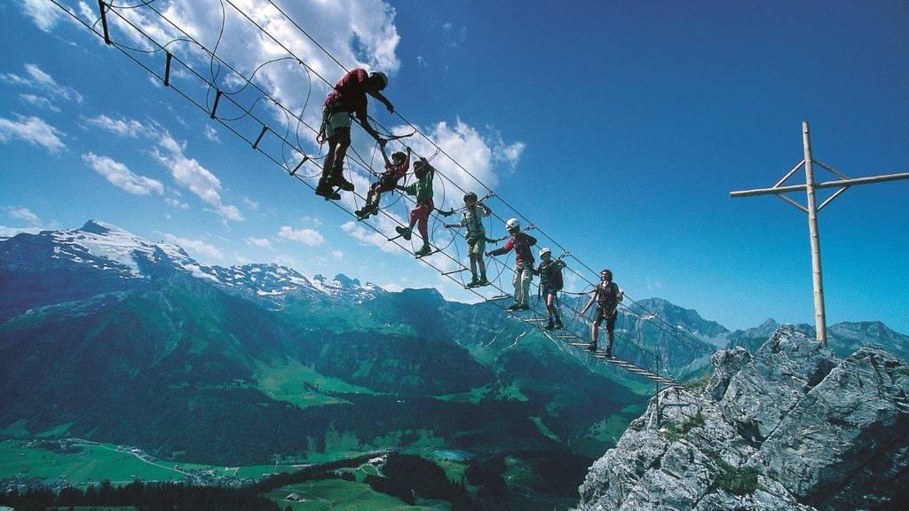 Freizeittipp: Erlebnis Klettersteig Brunni ob Engelberg