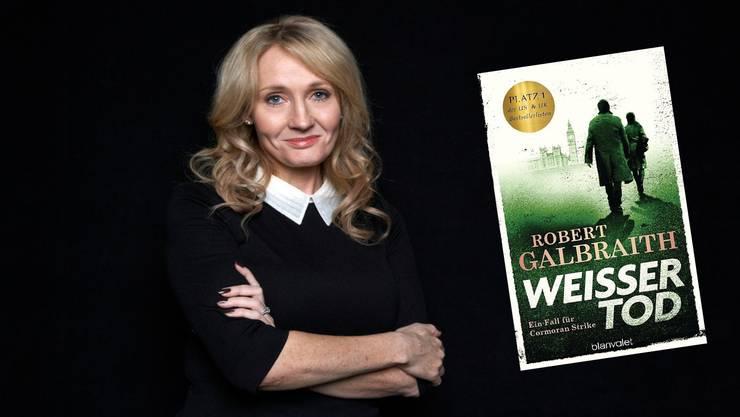 Auch als Robert Galbraith beweisst sie ihr schreiberisches Können: J. K. Rowling.