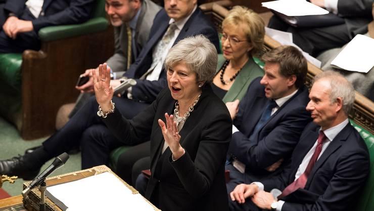 Theresa May im britischen Unterhaus: Findet die Premierministerin einen Ausweg aus dem Brexit-Chaos?