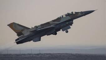 Ein Kampfjet der israelischen Armee (Archiv)