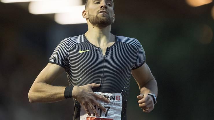 Kariem Hussein erreichte über 400 m Hürden den EM-Final