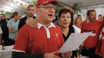 Die Stiftung Zukunft CH ortet Verwechslungsgefahr beim Text der Nationalhymne. (Symbolbild)