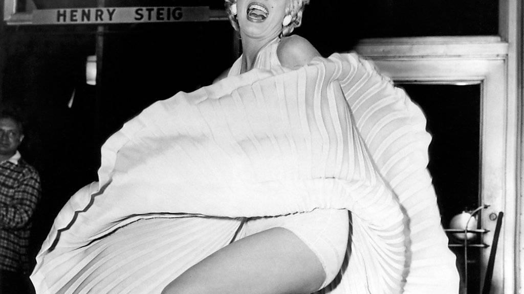 Eine Skulptur von Marilyn Monroe in Hollywood ist von einem Mann gestohlen worden. (Symbolbild)