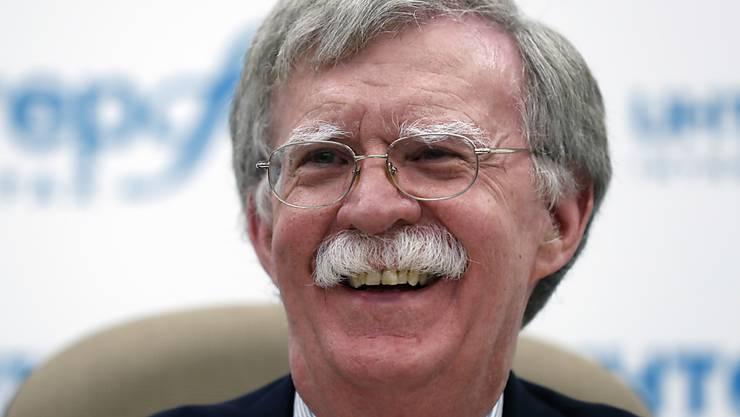 Der ehemalige Sicherheitsberater der US-Regierung, John Bolton, hat ein Buch über seine Amtszeit geschrieben. US-Präsident Donald Trump will die Publikation des Buches untersagen. (Archivbild)