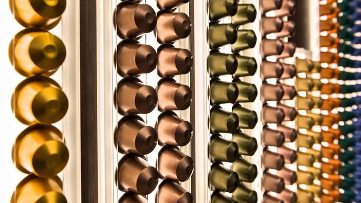 Im Online-Shop ist die Auswahl der Nespresso-Kapseln derzeit beschränkt.