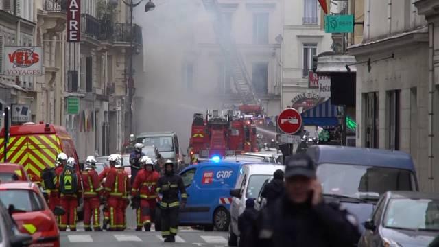 2 Tote nach Gasexplosion in Paris