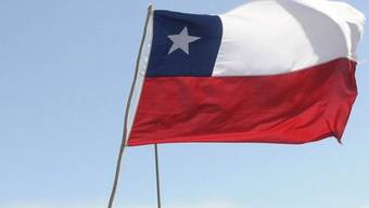 Die Flagge von Chile (Archiv)