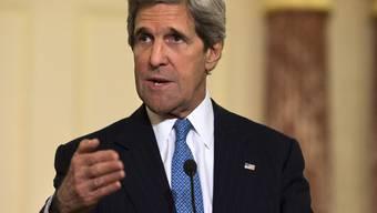 US-Aussenminister John Kerry bemüht sich, den Friedensprozess im Nahen Osten wieder in Gang zu bringen (Archiv)