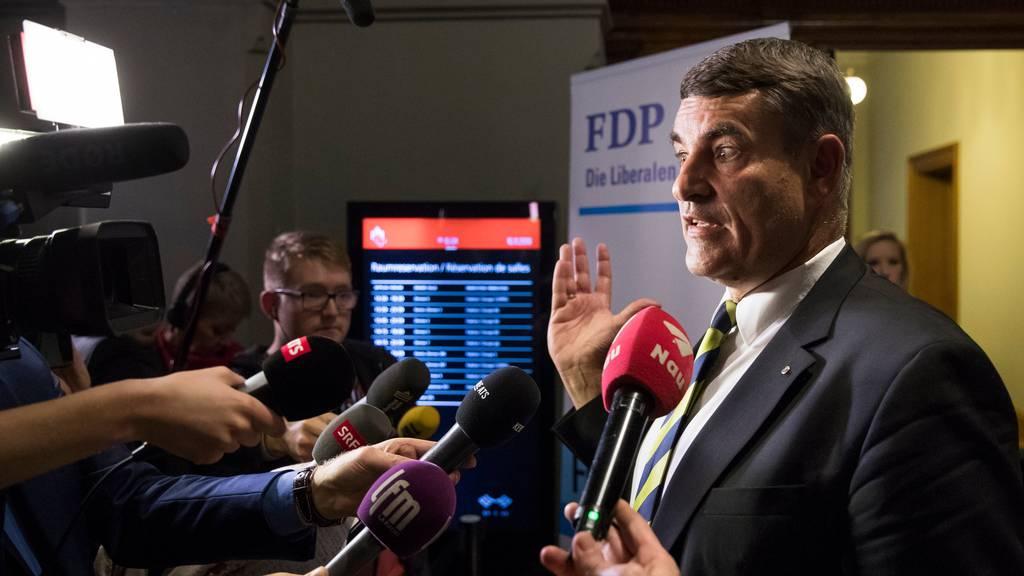 Beinahe-Bundesrat wird abgewählt, SP erobert FDP-Sitz