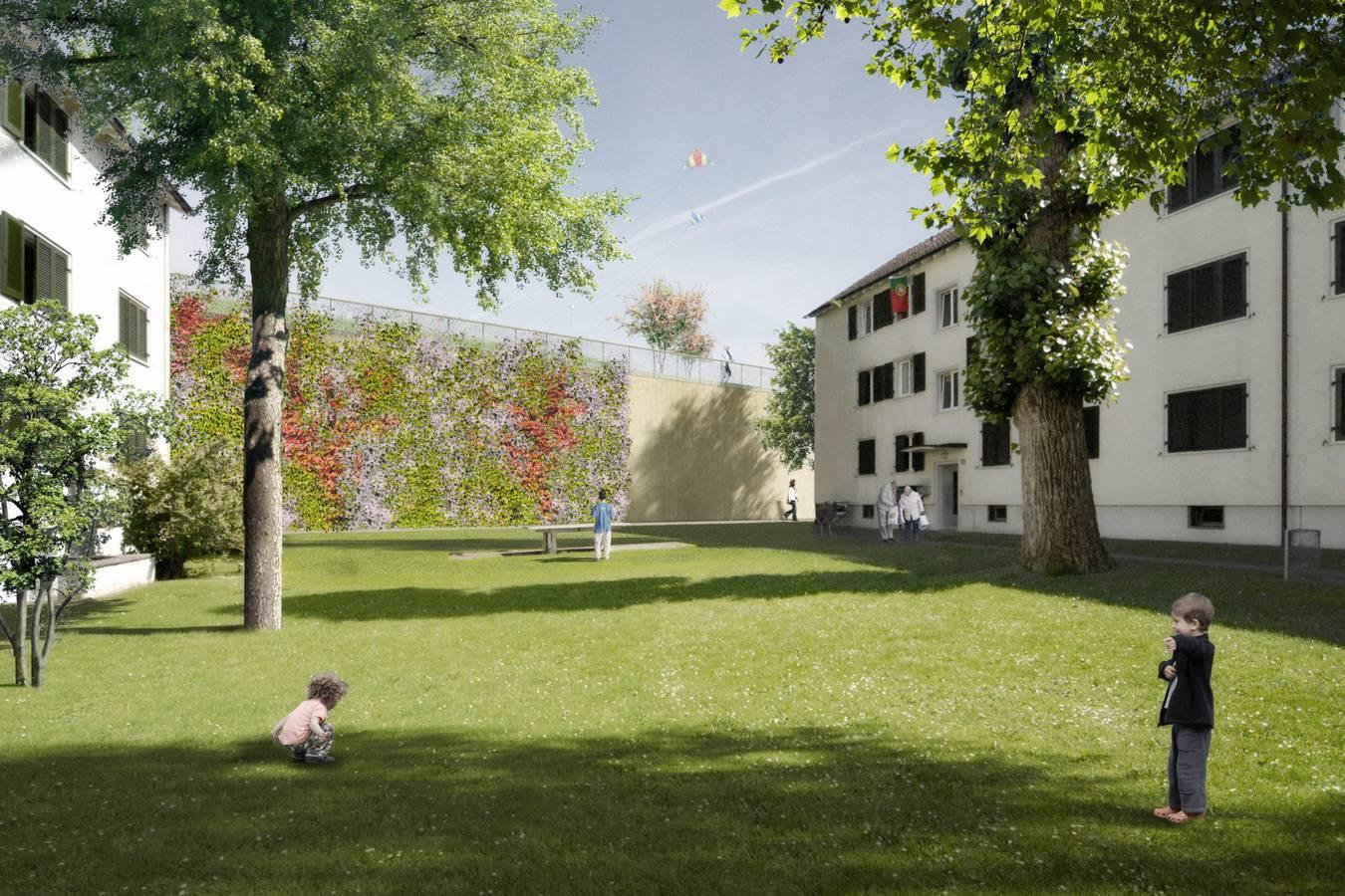 So wird die Einhausung aussehen (© ASTRA Infrastrukturfiliale Winterthur)