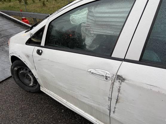 ...  Verletzt wurde niemand. Es entstand Sachschaden.